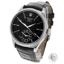 RO22753S Rolex Cellini Dual Time Back