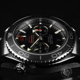 OM20307S Omega Seamaster Planet Ocean 600m Co Axial Chrono Close9