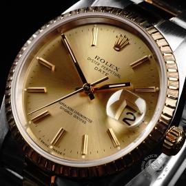 RO21991S Rolex Oyster Perpetual Date Close2 1