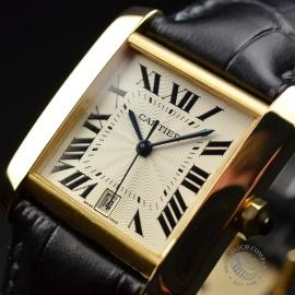 CA21253S Cartier Tank Francaise Mid Size18ct Close2