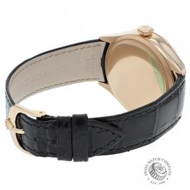 21396S Rolex Cellini Date 18ct Everose Back 2