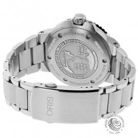 OR22678S Oris Aquis Source Of Life Limited Edition Back