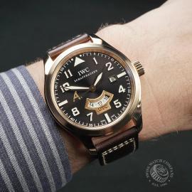 IW22448S IWC Pilot's Watch UTC Rose Gold Wrist