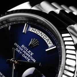 RO22142S Rolex Day-Date 40 White Gold Unworn Close3