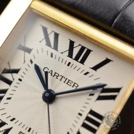CA21253S Cartier Tank Francaise Mid Size18ct Close5 1