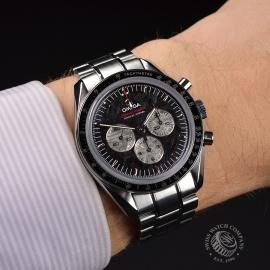 OM21366S Omega Speedmaster Professional Apollo Soyuz 35th Anniversary Limited Edition Wrist