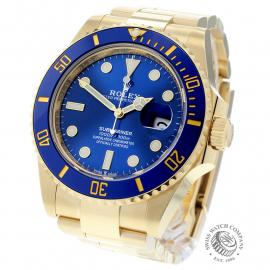 RO22674S Rolex Submariner Date Back