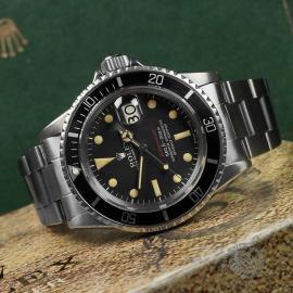 RO1970P Rolex Submariner Date 'Single Red' Close10