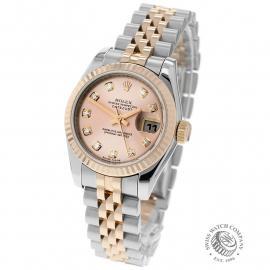 RO22737S Rolex Ladies Datejust Back