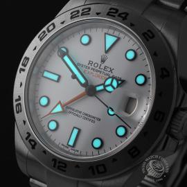 RO21745S Rolex Explorer II Orange Hand Close1