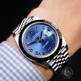 RO22025S Rolex Datejust 41 Unworn Wrist