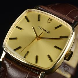 21456S Vintage Tudor Dress Watch 9ct Close2