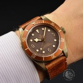 TU21155S Tudor Heritage Black Bay Bronze Wrist