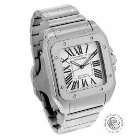 20956S Cartier Santos 100 Dial 1