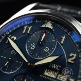 IW20694S IWC Pilots Spitfire Chrono Laureus Close4 1