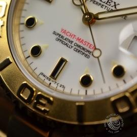 RO21031S Rolex Yachtmaster Mid Size 18ct Close6