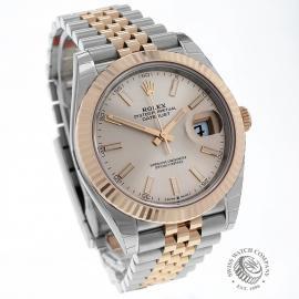 RO22620S Rolex Datejust 41 Unworn Dial