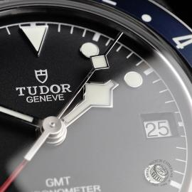 TU21766S Tudor Black Bay GMT Pepsi Bezel Close5