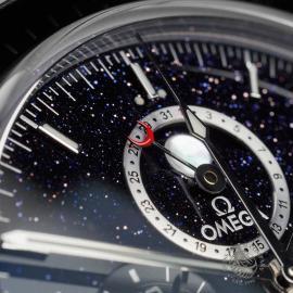 OM22648S Omega Speedmaster Moonphase Chronograph Close7