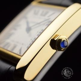 CA21253S Cartier Tank Francaise Mid Size18ct Close3