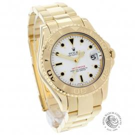 RO21757S Rolex Yacht-Master Mid size 18ct Dial