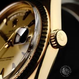 RO645F Rolex Day Date 18ct Close 9