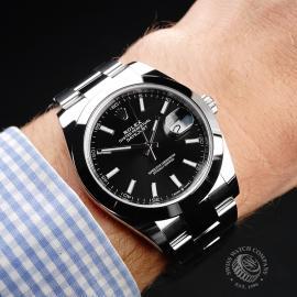RO22042S Rolex Datejust 41 Wrist