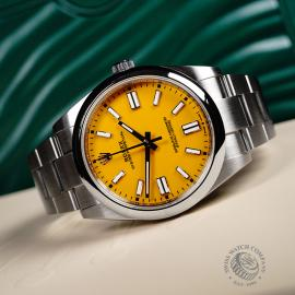 RO22043S Rolex Oyster Perpetual 41 Close10