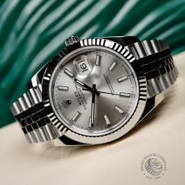 RO22716S Rolex Datejust 41 Close2