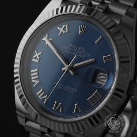 RO22710S Rolex Datejust 41 Unworn Close1
