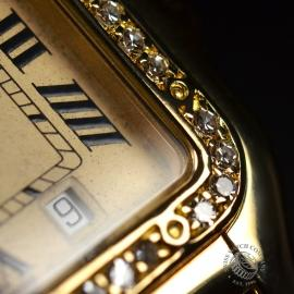 1863F Cartier Ladies Panthere 18ct Close11