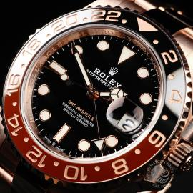 RO22050S Rolex GMT-Master II 18ct Everose Gold Close2