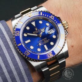 RO22693S Rolex Submariner Date Wrist 1