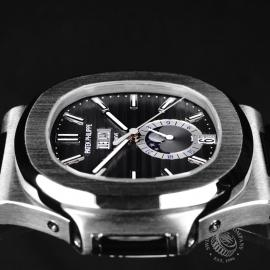 PK21759S Patek Philippe Nautilus Annual Calendar Moonphase Close6