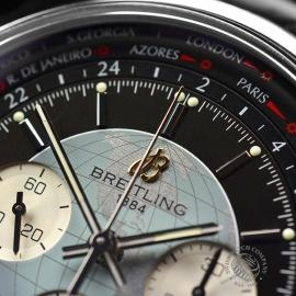 BR19708S Breitling Transocean Chronograph Unitime Close5 1