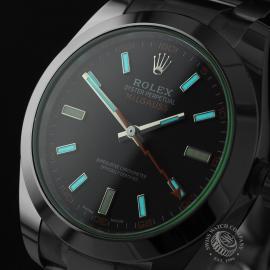 RO21986S Rolex Milgauss Unworn Close1