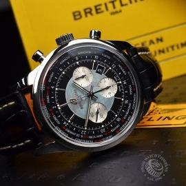 BR19708S Breitling Transocean Chronograph Unitime Close10
