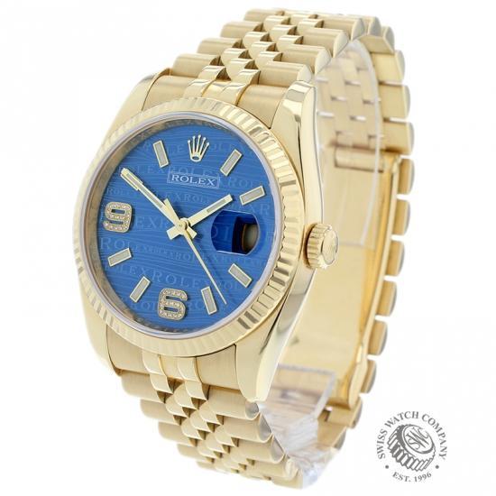 Rolex Datejust 18ct 116238