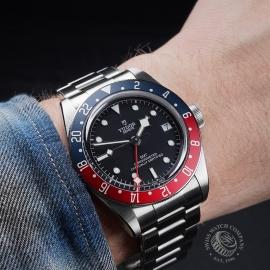 TU21630S Tudor Black Bay GMT Pepsi Bezel Wrist