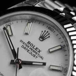 RO22350S Rolex Datejust 41 Unworn Close3