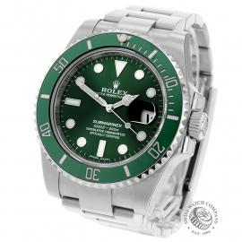 RO22274S Rolex Submariner Date Ceramic 'Hulk' Unworn Back