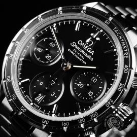 OM22263S Omega Speedmaster Co-Axial 38 Close2