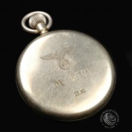 IW844F IWC Vintage 'Kriegsmarine' Pocketwatch Close10