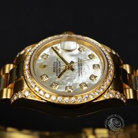 RO21016S Rolex Ladies Datejust 18ct Close9