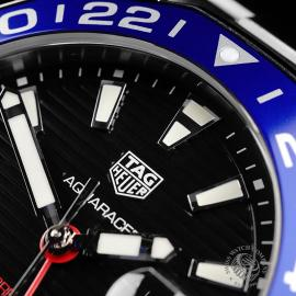 TA22134S Tag Heuer Aquaracer GMT Close3