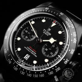TU22227S Tudor Heritage Black Bay Chronograph Dark Close2