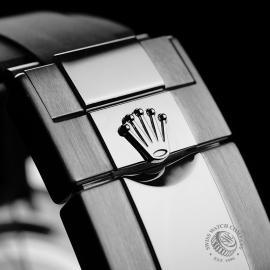 RO22128S Rolex Cosmograph Daytona White Gold Unworn Close8