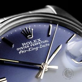 RO21914S Rolex Vintage Air-King Date Close5