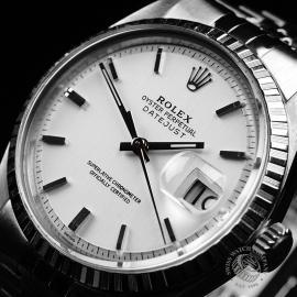 RO1921P Rolex Vintage Datejust 36 Close2
