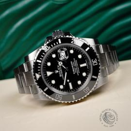 RO21813S Rolex Submariner Date Ceramic Close10